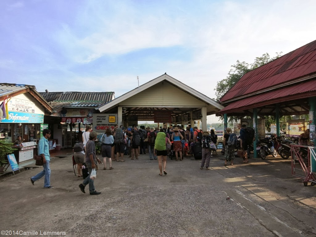 Ferry pier at Ban Saladan on Koh Lanta
