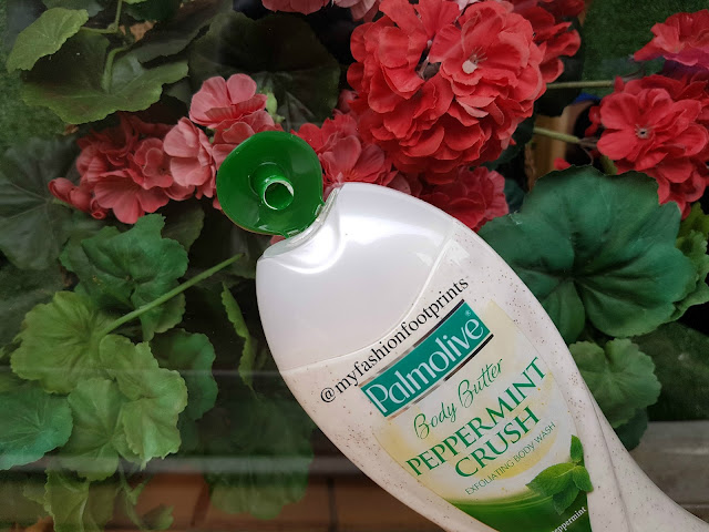 Palmolive body butter peppermint crush Exfoliating Body Wash Review