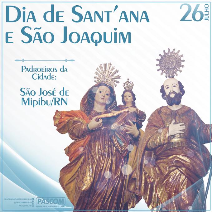 DIA DE SANT'ANA E SÃO JOAQUIM