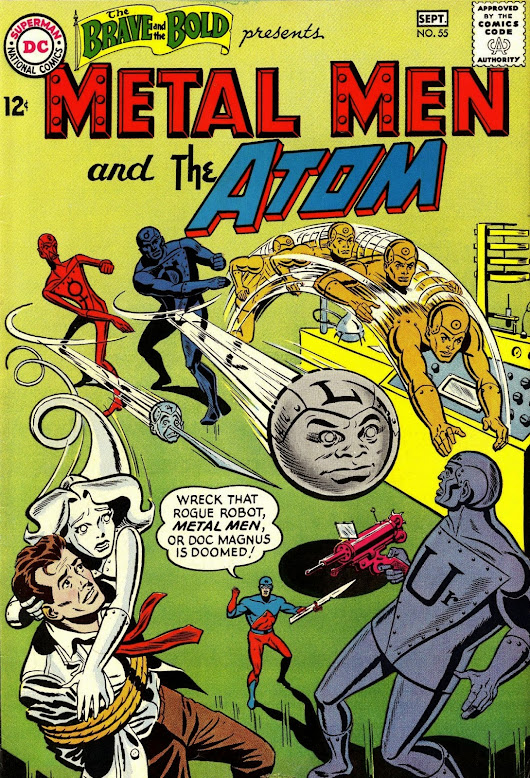 The Senses-Shattering Saga of the Metal Men Special Edition! Brave and the Bold #55!