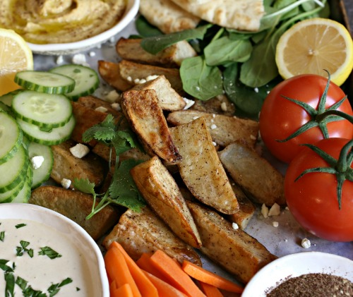 Middle-Eastern-Potato-Snack-Platter