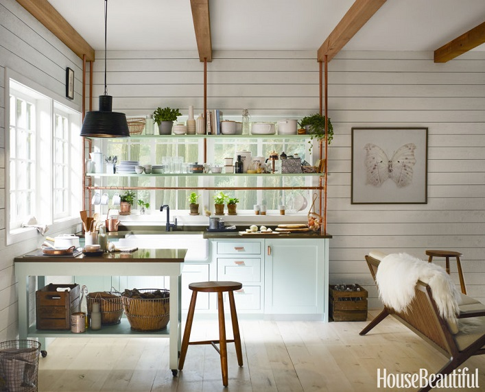 Mix and chic favorite room of the week for Studio kitchen ideas for small spaces