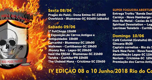 Rock In Hell Do Campo IV: O Fogo do Metal Cada Vez Mais Aceso