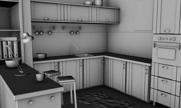 Model, Texture, and Render an Interior Scene With Cinema 4D and VRay