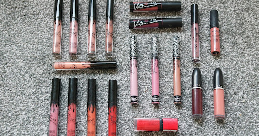 ♥ Liquid Lipstick Collection BLOGMAS #5