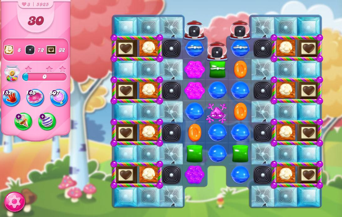 Candy Crush Saga level 5925