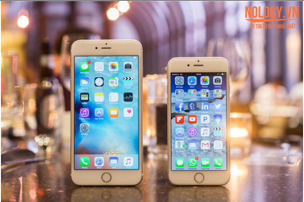 Iphone 6s plus cũ đọ dáng cạnh iphone 6s
