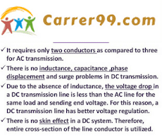 Advantages of DC over AC | Direct Current & Alternating Current