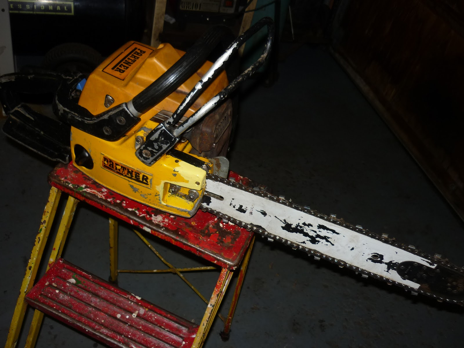 VINTAGE CHAINSAW COLLECTION: PARTNER P70
