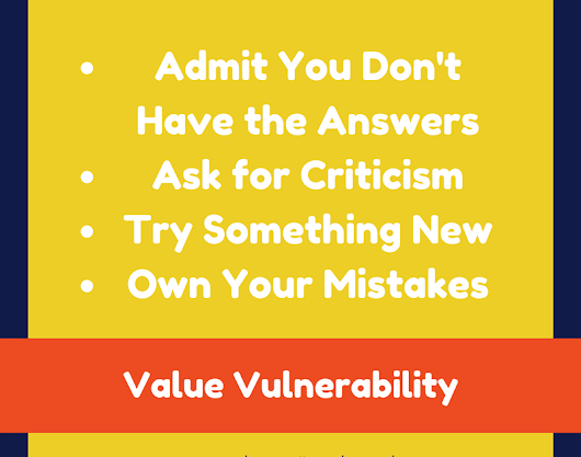 THRIVE by Valuing Vulnerability
