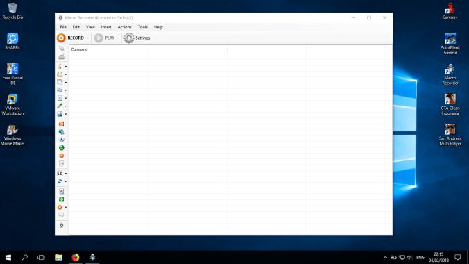 Cara GB EXP Point Blank Menggunakan Macro Recorder - Info