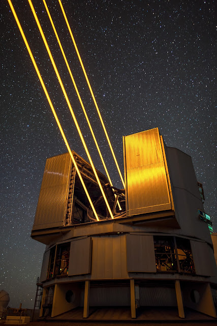 4LGSF on UT4 of the VLT at ESO's Paranal Observatory