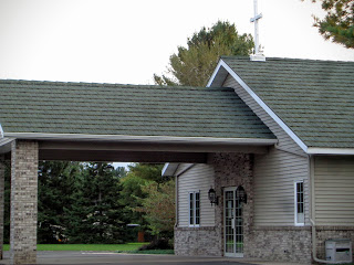 Entrance to Holcombe United Methodist Church, Wisconsin