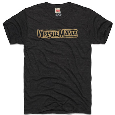 WrestleMania Black Edition T-Shirt by Homage x WWE