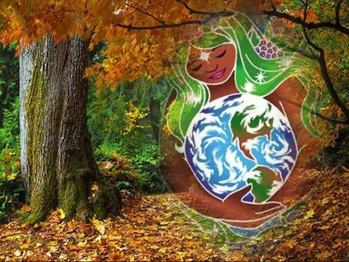 Oração  à mãe Terra