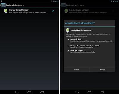 cara menghapus data perangkat android