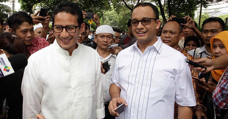 RESMI!! Anies - Sandiaga Nyatakan Siap Ikut Pilkada DKI Jakarta 2017