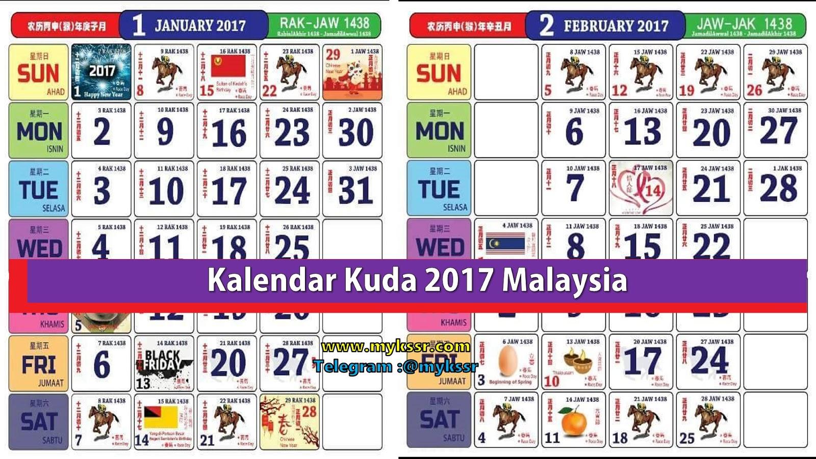 Malaysia bagi tahun 2017