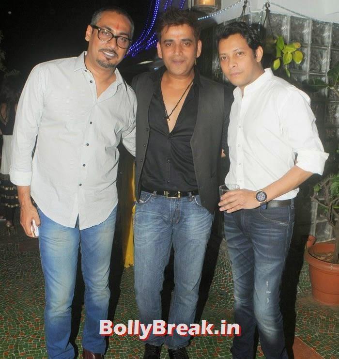 Abhinav Kashyap, Ravi Kishan, Mayank Singh, Hot Photos from Rowdy Bangalore Team of Box cricket League