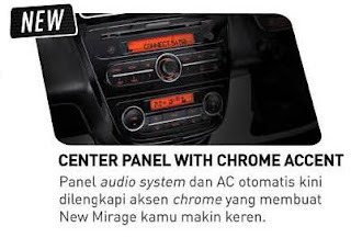Center Panel With Chrome Accent
