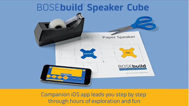 BOSEbuild Speaker Cube