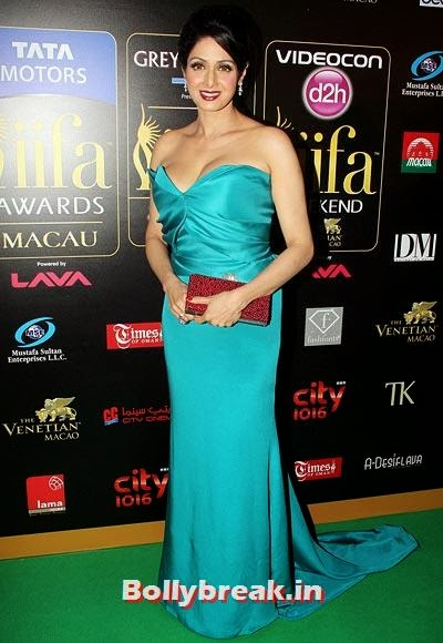 Sridevi, Who was Bollywood's BEST DRESSED actresses of 2013?