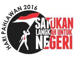 logo hari pahlawan 2016