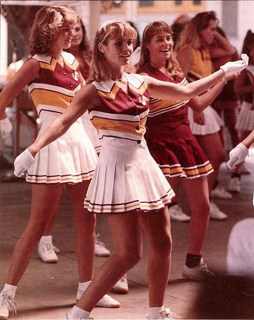 Vintage Cheerleader Pictures From 1966 1967 Vintage Everyday