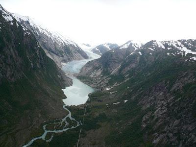 Glaciar Nigards en 2007