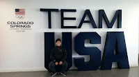 Kenneth Lo at Olympic Training Center, Colorado Springs.