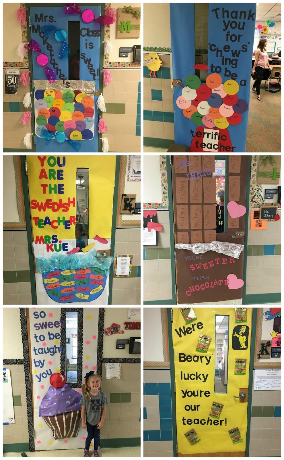 Crafty Texas Girls Sweet Candy Themed Teacher