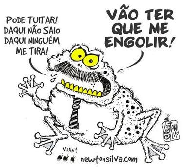 RM no Foco: ENGOLINDO SAPO...!!
