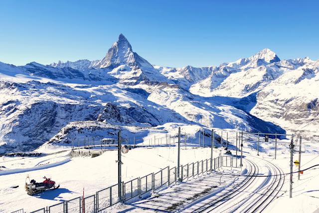 Gornergrat, Matterhorn, Schweiz, Berge, Eisenbahn, Bucketlist