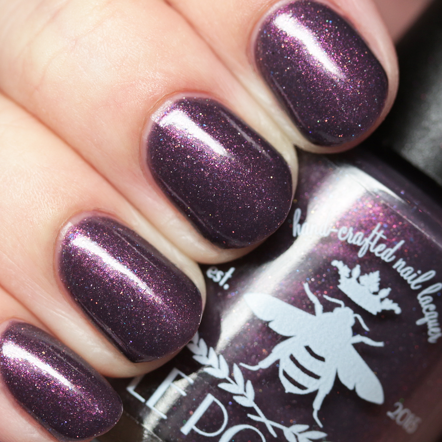 the polished hippy le polish polish con le trio swatches and review. Black Bedroom Furniture Sets. Home Design Ideas