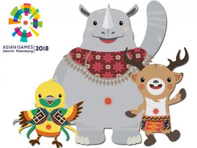 ASIAN GAMES 2018 DUKUNG BERSAMA