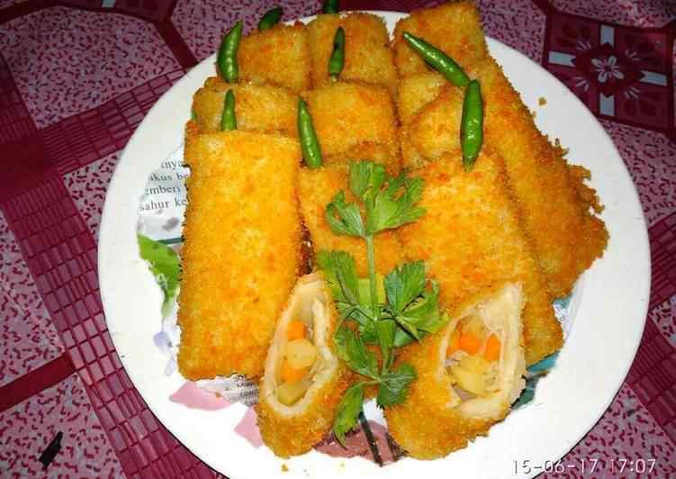 cara membuat risoles kentang Resep Indonesia CaraBiasa.com
