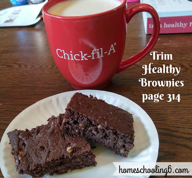 Trim Healthy Brownies