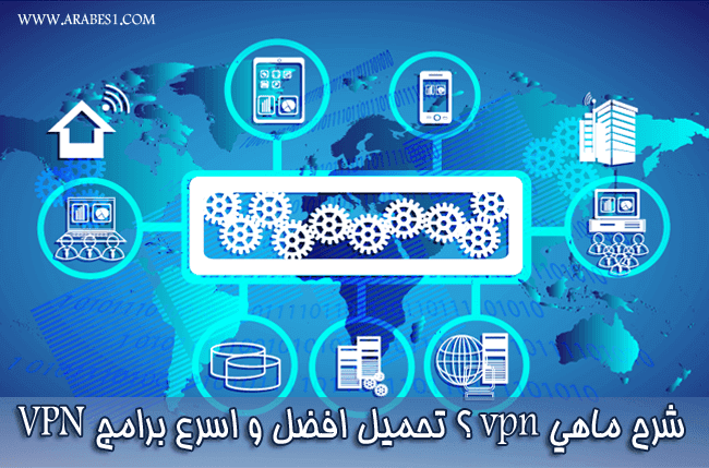شرح ما هو vpn ؟ تحميل افضل و اسرع برامج VPN