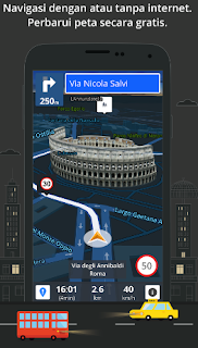 aplikasi penunjuk arah di android tanpa koneksi internet