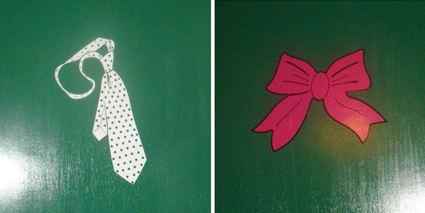 20+ Of The Most Creative Bathroom Signs Ever - Tie Vs. Bow
