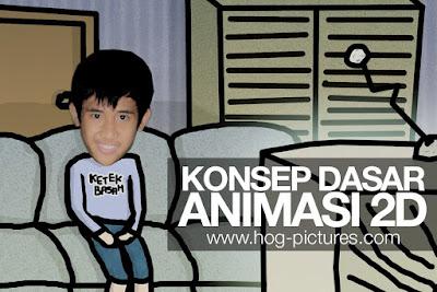 Konsep Dasar Prinsip Animasi 2D - Hog Pictures
