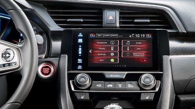 Pantalla táctil de 7 pulgadas - Honda Civic Hatchback 2017