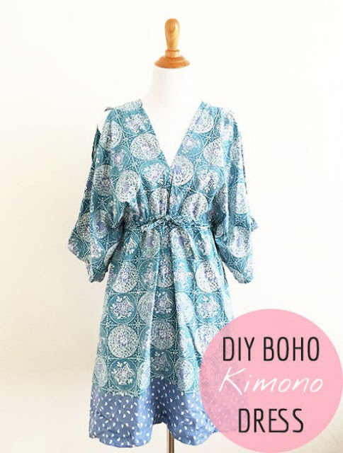 The Vintage Pattern Files: Free 1970's Sewing Pattern - Kimono Tutorial