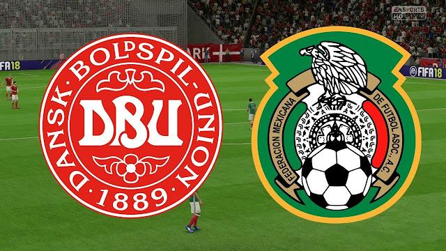 Denmark vs Mexico Full Match Replay 09 June 2018