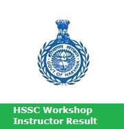 HSSC Workshop Instructor Result