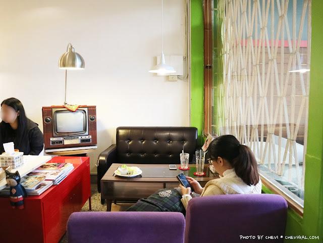 IMG 9171 - 台中北區│樂珈琲 Tano CAFE,隱藏在中友百貨後方的老宅咖啡,還有可愛店貓超療癒!