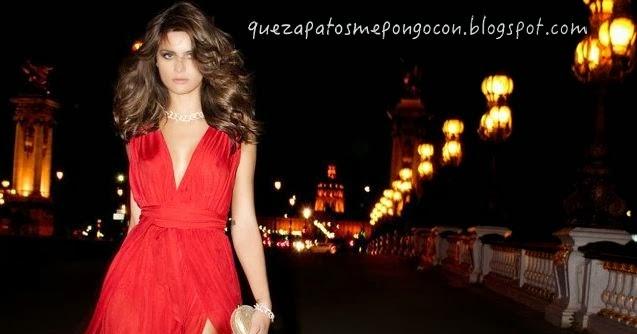 Que Zapatos Combinan Con Un Vestido Rojo Largo Como