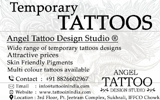 temporary tattoo shop, temporary tattoo shop gurgaon