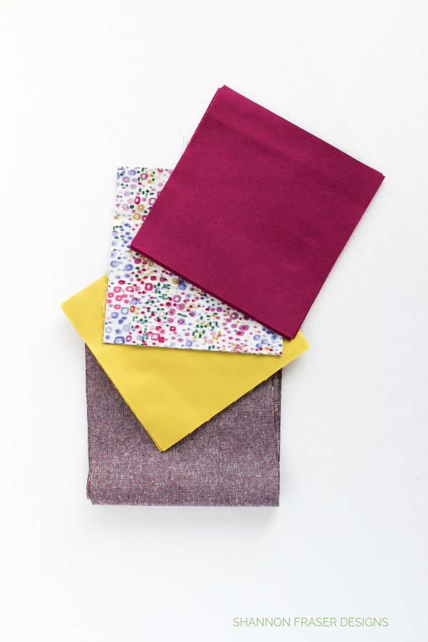Fabric pull for Indian Star Mini | Quilt Big Blog Hop | Shannon Fraser Designs