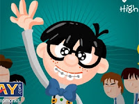 Slap as many nerds possible without touching the cool kids! #FlashGames #OnlineGames #StrategyGames